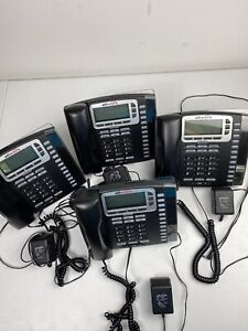 4 Allworx 9212l Voip 12 button Backlit Display Office Phone W Handset