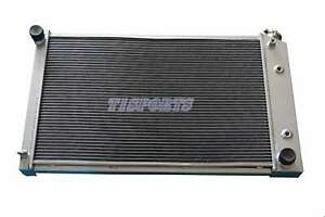 3 Row Aluminum Radiator 1970 81 Chevy Camaro 78 87 Monte Carlo G body 26 Core