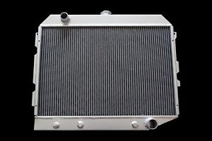 3 Row Aluminum Radiator For 1968 74 Dodge Plymouth Mopar Cars Small Block 26 w