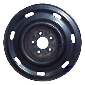 Wheel For 2003 2011 Ford Crown Victoria 16x7 Black Refinished 16 Inch Rim