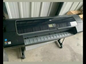 Hp Designjet Z2100 44 in Large Format Graphics Photo Printer Used