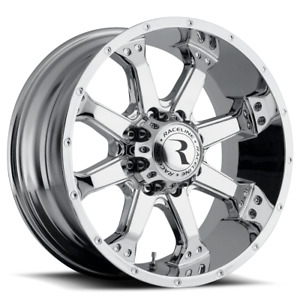 17 Inch 6x139 7 4 Wheels Rims Raceline 991c Assault 17x9 0mm Chrome