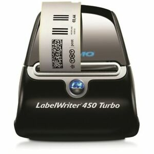 Dymo Labelwriter 450 Turbo Printer 71 Label min 5w X 7 4d X 5 5h New Sealedosc