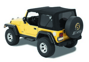Bestop For Supertop Nx Black Twill Jeep 1997 2006 Wrangler except Unlimited
