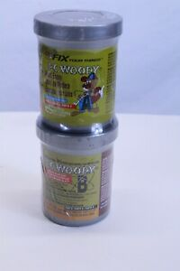 Pc woody Two Part Wood Epoxy Paste Tan Color 12 Oz