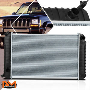Aluminum Oe Style Radiator For 82 90 Chevy S10 Gmc S15 Pickup 2 8l At Dpi 0744