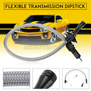 Flexible Stainless Transmission Dipstick For Gm Chevy Th350 Th400 Turbo Sbc Bbc
