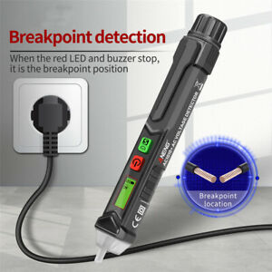 12 1000v Ac dc Non contact Lcd Electric Test Pen Voltage Digital Tester Detector