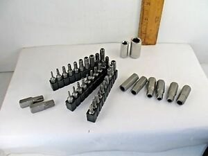 Craftsman 40 Pc Tamper Proof Security Torx Hex Bit Set With Adapters 1 4 3 8