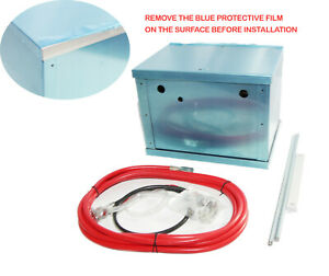 Complete Aluminum Battery Box Relocation Kit Universal W cables And Hardware