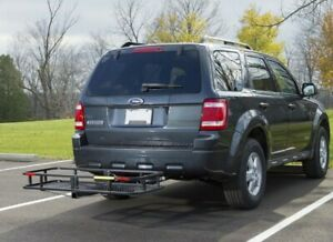 60x20x5 Truck Car Cargo Carrier Basket Luggage Rack Hitch 2 Hitch Us Seller