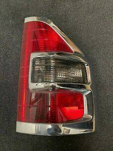 2001 2002 Mitsubishi Montero Tail Light Assembly Right Chrome Used Oem Limited