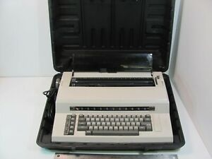 Tested Working Sears The Electronic Communicator 1 Electric Typewriter W Case