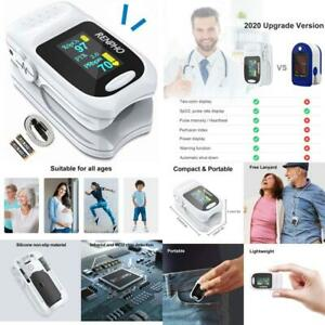 Pulse Oximeter Fingertip Accurate Reading Pediatric And Oxygen Monitor