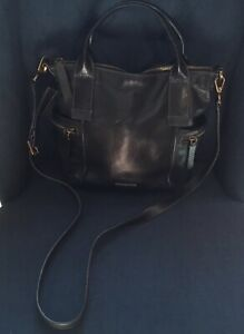 Fossil® Emerson  1954 Medium Handbag Crossbody Black Leather  ZB6696 $10.50