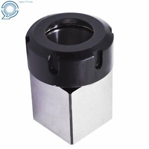 Er 40 Square Collet Block Chuck Holder Fit For Cnc Lathe Engraving Machine Us
