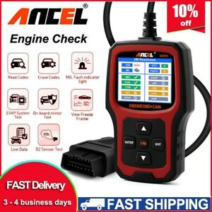 2020 New Ad410 Universal Eobd Obdii Auto Car Code Reader Diagnostic Scanner Tool