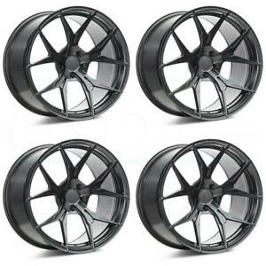 22x9 Rohana Rfx5 5x114 3 35 Black Wheels Rims Set 4 73 1