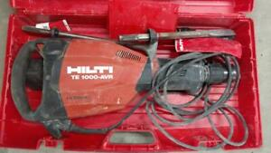 Hilti Te 1000 avr Hidrive Electric Demolition Hammer 120v