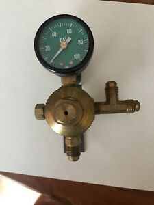 Co2 Soda Fountain Pressure Gauge 100 Psi Max