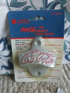 Champion CoCa-Cola Old Fashioned Bottle Opener NO. M-2701 New In Package