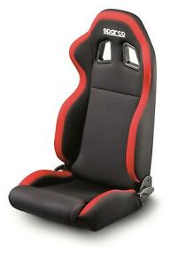 Sparco 00961nrrs R100 Street Seat Black red