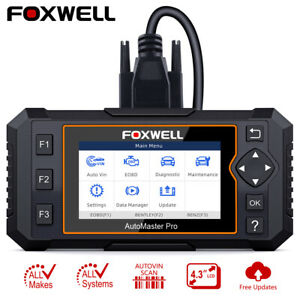 Us Automotive Obd2 Scanner Full System Diagnostic Tool Oil Epb Reset Code Reader