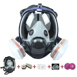 6800 Painting Spraying For 8 In1 Full Face Suit Gas Mask Facepiece Respirator Hb