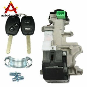 Ignition Switch Cylinder Lock Auto Trans Kit For Honda 2006 2011 Civic Accord