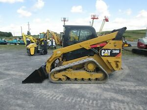 Cat 289d Used Track Skid Steer Cab A c Backup Camera 3rd Valve 4 050 Cap