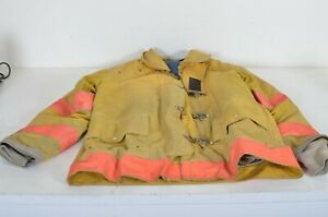 38x35 Xl Cairns Globe Firefighter Jacket Turn Out Bunker Gear W Liner 1995 Xcb1