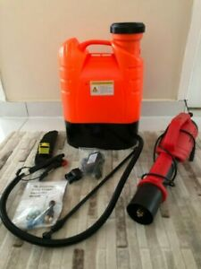 Cdc Recommended Electrostatic Disinfectant Sprayer 4 2 Gal cordless Ship From Us