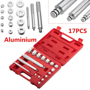 17pcs Car Aluminium Wheel Bearing Race Seal Bush Driver Master Tool Set 10 42mm