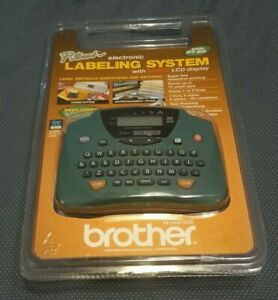 Brother Pt 65 P touch Home And Hobby Label Maker Large Lcd Display