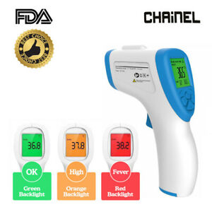 Non contact Forehead Infrared Thermometer Temperature Gun For Baby Ad