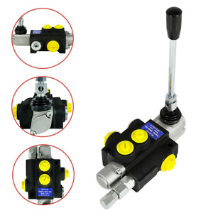 1 Spool Hydraulic Directional Control Valve Manual Operate 3600psi 13gpm In Usa