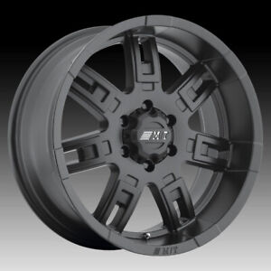 Mickey Thompson Sidebiter Ii Matte Black 16x8 8x6 5 0mm 90000019387