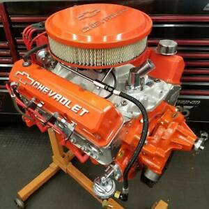 434ci Brodix Small Block Chevy Turn Key Engine 600hp Built To Order Dyno Tuned