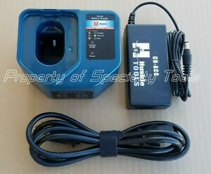 Huskie Ch 94 Battery Charger Ch acc 110vac Adapter Robo Crimper Cutter Tool New