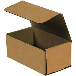 Boxes Fast Bfm853k Corrugated Cardboard Mailers 8 X 5 X 3 Inches Tuck Top Pack