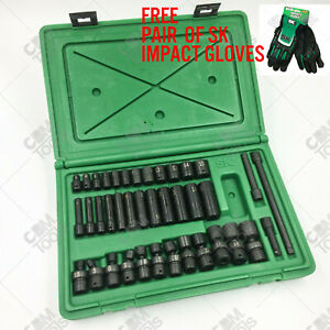 Sk Hand Tools 31036 39 Piece 1 4 Drive Metric Impact Socket Set