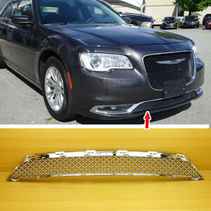 Front Bumper Lower Grille 2015 2017 For Chrysler 300 300s 300c 4dr B Type Chrome