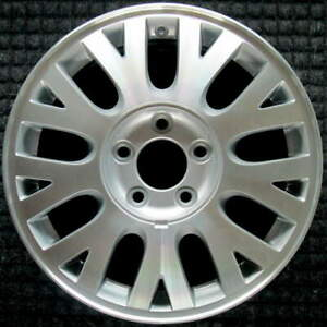Ford Crown Victoria Machined W Silver Pockets 16 Inch Oem Wheel 2003 To 2007