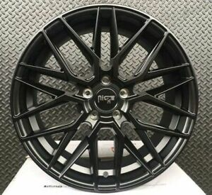 Staggered Rims 20 Inch Wheels For 2013 2014 2015 Camaro Ls Lt Rs Ss Only 5721
