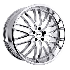 17 Inch 5x114 30 Wheel Rim Tsw Snetterton 17x8 40mm Chrome