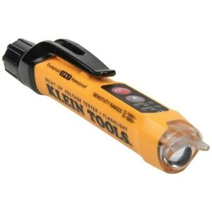Klein Tool Cat Iv Non contact Voltage Tester Detects 12 1000v Ac W Flashlight