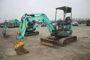 Used Ihi 25vx3 Mini excavator 2013 Open Rops 18 Tooth Bucket 12 Track Belts