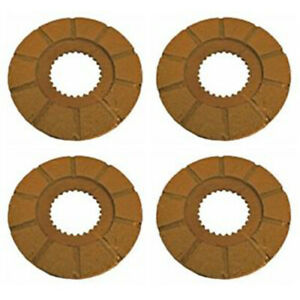 4 Brake Discs Fits Mpl Moline Oliver White 2 44 660 Super 55 Super 66 Models 106