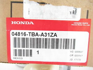Genuine Oem Honda 04816 tba a31za Driver Front Seat Belt Buckle 2016 2019 Civic
