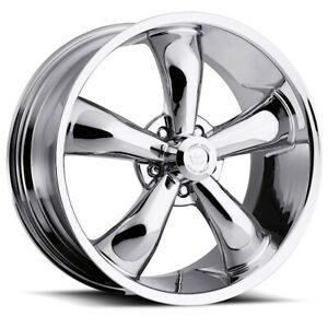 17 Inch 5x114 3 4 Wheel Rims Vision 142 Legend 5 17x7 0 Chrome